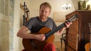 The Sound of Silence - Simon & Garfunkel (Acoustic Classical Guitar Tabs Fingerstyle Music Cover)