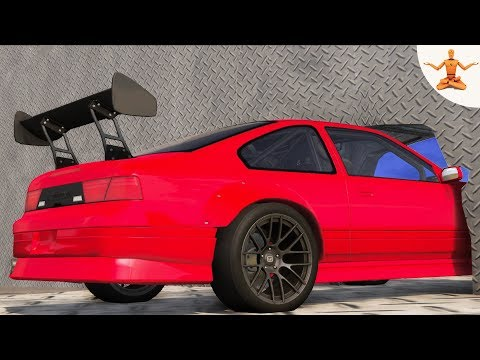 BeamNG Drive - Impossible car stunts #14