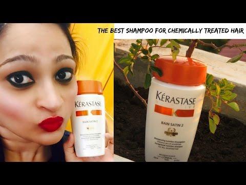 Kerastase Nutritive Bain Satin 2 Shampoo - The Best Shampoo for chemically treated hair