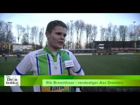 VIDEO   Asv Dronten pakt puntje tegen Eemdijk in spectaculaire wedstrijd: 3-3