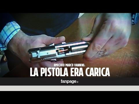 Caso Vannini, l'analisi della pistola che ha ucciso Marco