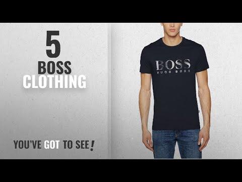 Top 10 Boss Clothing [2018]: Hugo Boss Men's RN T-Shirt