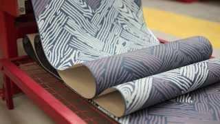 Farrow & Ball - The Making Of Parquet Wallpaper Pattern