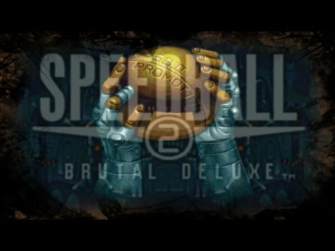 SpeedBall 2 Brutal Delux Long play to promotion W/ cometary
