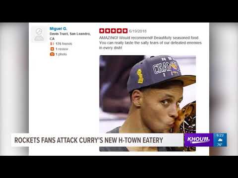 cb6536a8a294 Rockets fans attack Ayesha Curry s Houston eatery before it even opens