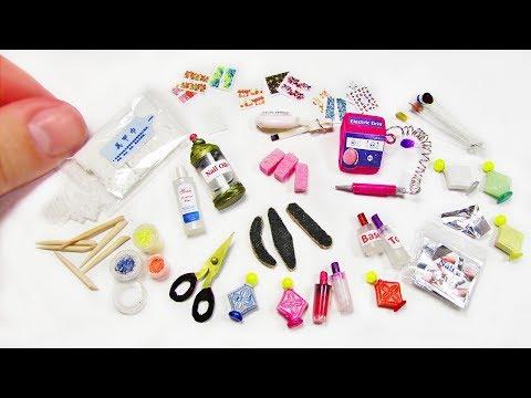 Miniature Manicure Tools Nail