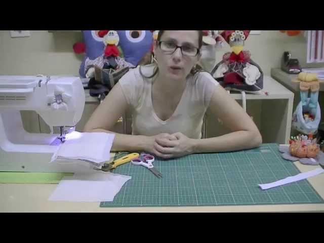 Well-known Necessaire Magica por Estela Junqueira | Cantinho do Video QY04