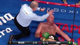 The Secret Reason Tyson Fury was able to get up after Deontay Wilder Knockout