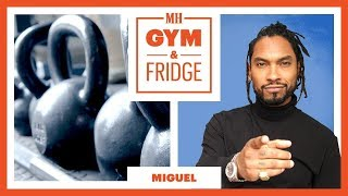 Miguel Shows His Home Gym & Keto Fridge | Gym & Fridge Tour | Men's Health