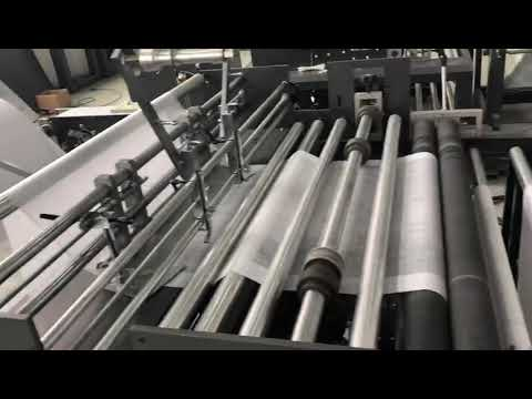 Fully Automatic Non Woven Bag Machine