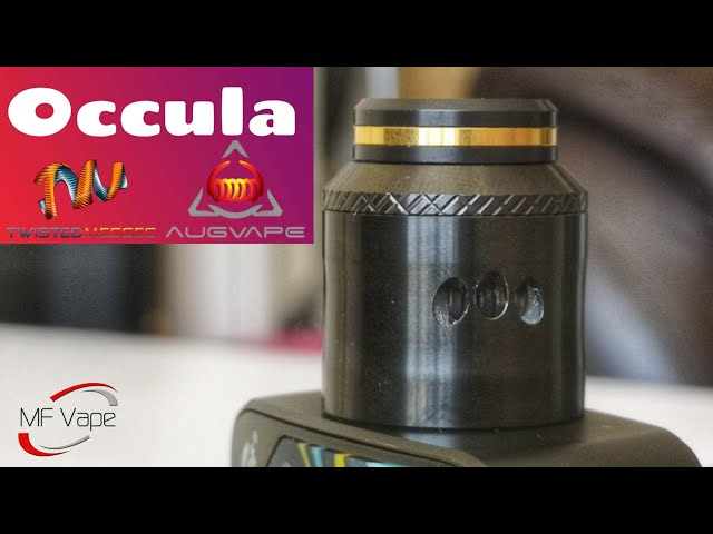 Occula RDA | Augvape/Twisted Messes | Review, build & wick