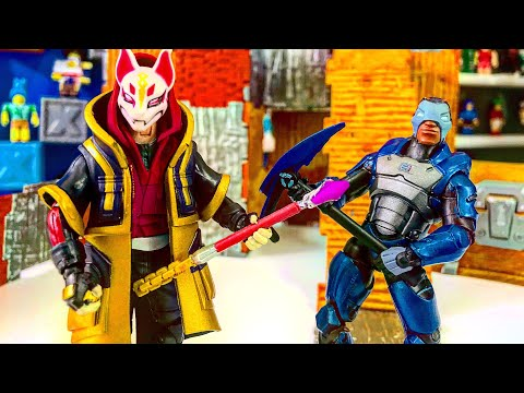 Drift And Carbide Fortnite Action Figures From Jazwares Unboxing And