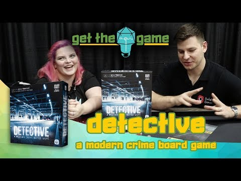 Get the Game - Detective: A Modern Crime Board Game