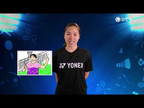 Blibli Indonesia Open 2019 - Guess Kids Drawing With Ratchanok Intanon