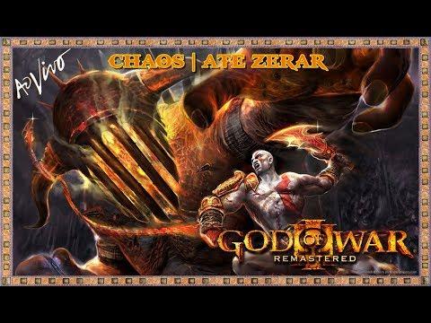 GOD OF WAR 3 [PS4] - MATANDO TUDO E UPANDO TUDO | VERY HARD - CAOS | ATÉ ZERAR