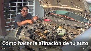 Cómo hacer la afinación de tu auto CHEVY standar