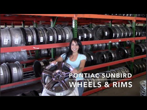 Factory Original Pontiac Sunbird Rims & OEM Pontiac Sunbird Wheels – OriginalWheel.com