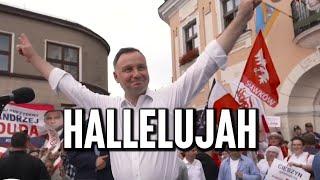 MÓJ SUBSKRYBOWANY KANAŁ – Andrzej Duda – Hallelujah. W Skoczowie zaśpiewano Dudzie specjalnie przygotowaną wersję ballady