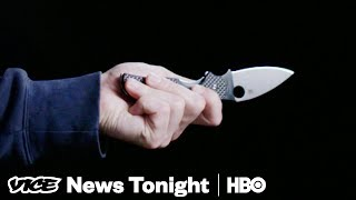 War On Knives & Protesting Trump's Wilderness: VICE News Tonight Full Episode (HBO)