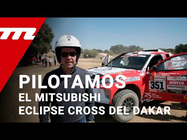 Pilotamos el Mitsubishi Eclipse Cross Proto del Dakar