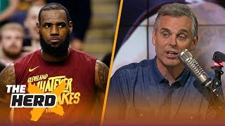 Colin Cowherd reacts to LeBron's Cavaliers losing Game 2 to the Celtics | NBA | THE HERD - Video Youtube