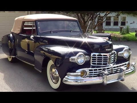 1947 & 1948 Lincoln Continental Classic Cars