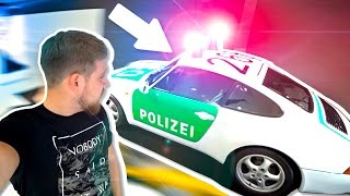 Мерседес или Порше? На чём ездит полиция в Европе?