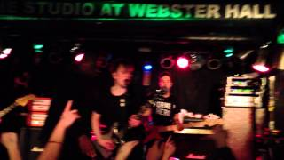 Fall Out Boy Encore Speech and Patron Saint of Liars and Fakes 2/5/13 NY Studio at Webster Hall 2013