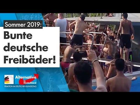 Nafris schikanieren Badegäste – Freibad Düsseldorf von Polizei evakuiert