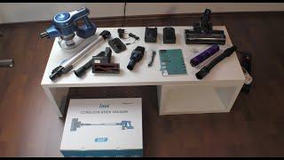 Akkustaubsauger INSE S6P / 2 Akkus / 25 kPa / 250 Watt / TEST