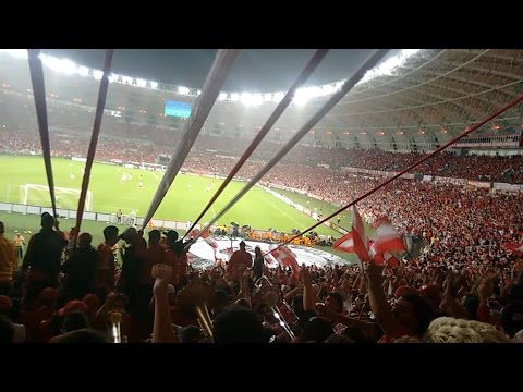"""Inter 2x0 Santa Fé - Oh Inter - Guarda Popular"" Barra: Guarda Popular • Club: Internacional"