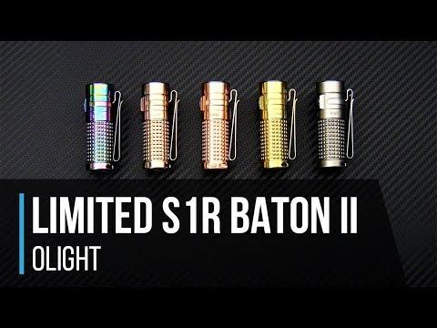 olight s1r ii baton limited titanium winter rechargeable. Black Bedroom Furniture Sets. Home Design Ideas