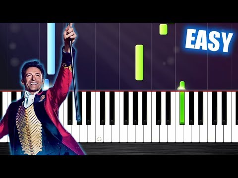 The Greatest Showman - This Is Me - EASY Piano Tutorial by PlutaX