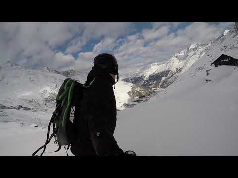 First Ride Alpin Express [Saas Fee, 2018-01-05]