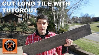 Cut Tile with Montolit's TutorCut for Angle Grinders (Quick Tips)