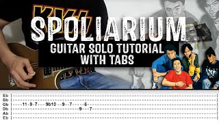 Eraserheads - Spoliarium (Guitar Solo Tutorial with tabs)
