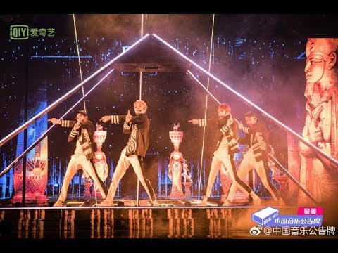 20180914【ONER】坤音四子【无我 Work】打歌舞台!中国音乐公告牌CUT
