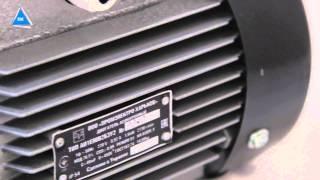 Электродвигатель однофазный 2,2 кВт 3000 об/мин (АИР 1Е 80С2) от компании ПКФ «Электромотор» - видео