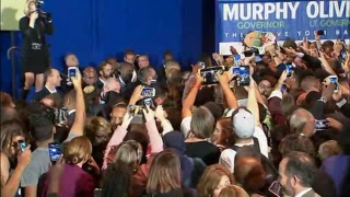 NOW: Barack Obama returns to campaign trail with Dem New Jersey gubernatorial nominee Phil Murphy