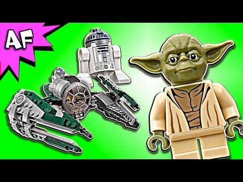 Vidéo LEGO Star Wars 75168 : Yoda's Jedi Starfighter