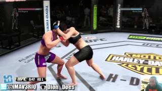 UFC - UFC Rivalry vs Chris #3  | Cat Zingano vs Alexis Davis  | UFC FIGHTS 2014