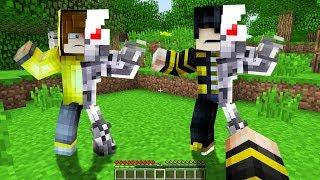 AİLEM VE BEN ROBOTA DÖNÜŞTÜK! 😱 - Minecraft