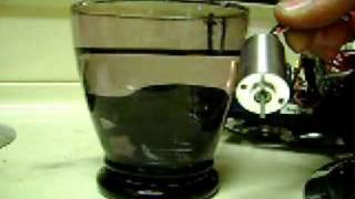 Brushless Motor Underwater
