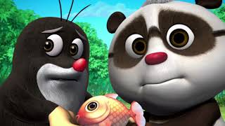 Кротик и Панда - 17 серия - Новые мультики для детей