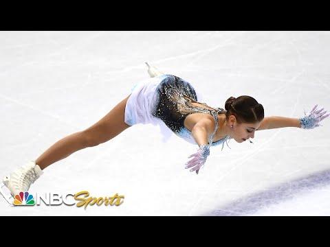 Alena Kostornaia soars into first after Grand Prix Final short program | NBC Sports