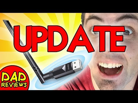 BEST WIRELESS USB WIFI ADAPTER UPDATE | Wsky USB WiFi Adapter 600Mbps Update