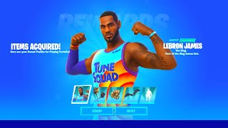 Say Hello To Lebron James In Fortnite