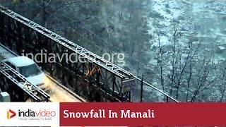 Breathtaking Snowfall at Manali