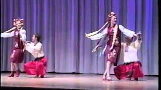 Traditional Ukrainian dance Hopak