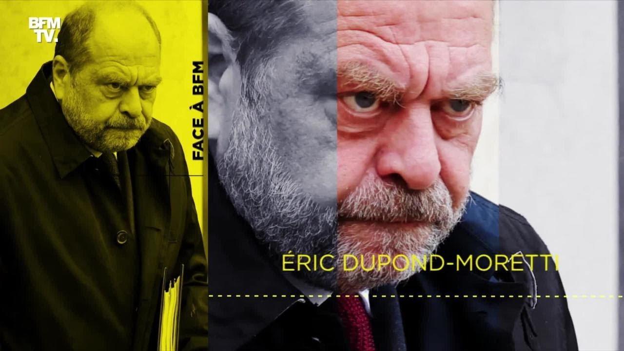 """Eric Dupond-Moretti """"face à BFM"""", l'émission en intégralité"""